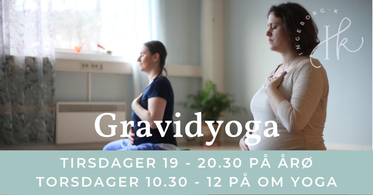 Gravidyoga tirsdager på Årø