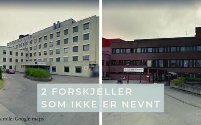Molde og Kristiansund – forskjeller som ikke er nevnt