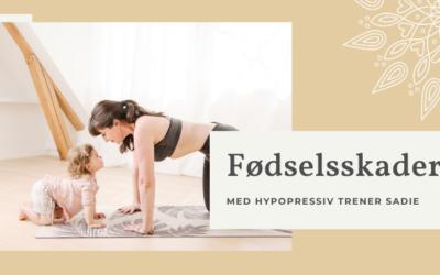 Fødselsskader med hypopressiv trener Sadie